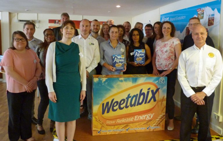 Business Meet at Breakfast with Weetabix