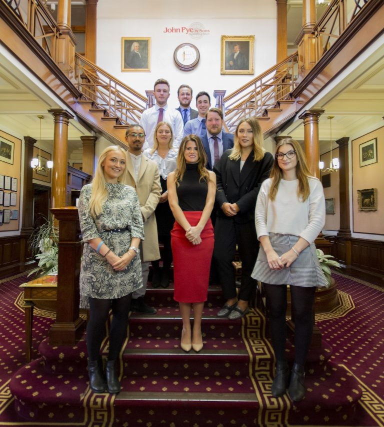 Marketing team doubles following five new appointments at John Pye Auctions