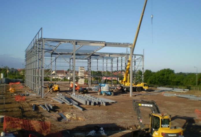 Construction underway on 90,000 sq ft Magnetic Park development in Northants