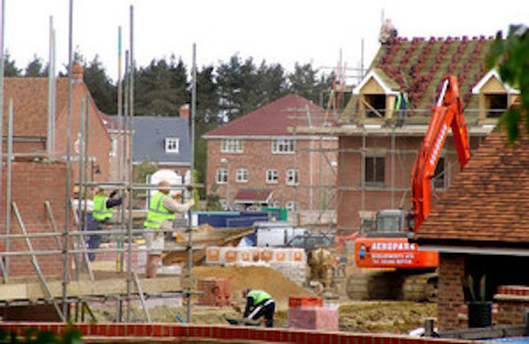 Housebuilding soars to highest levels in almost a decade