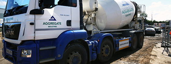 Aggregate Industries delivers 1,000 loads to change city skyline