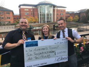 Gleeds Treasure Hunt raises £2,210 for the Alzheimer's ...