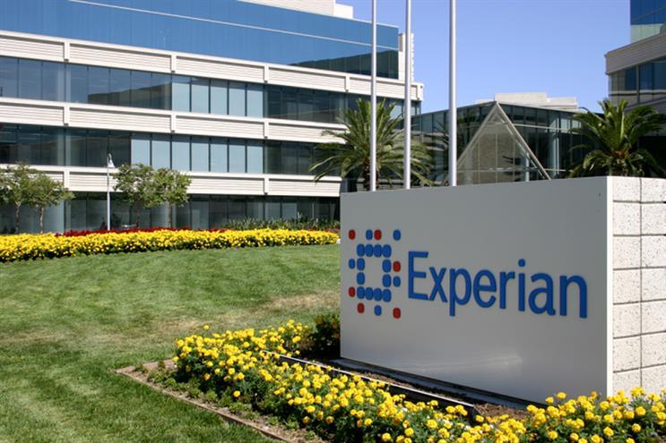 Revenue falls at Experian