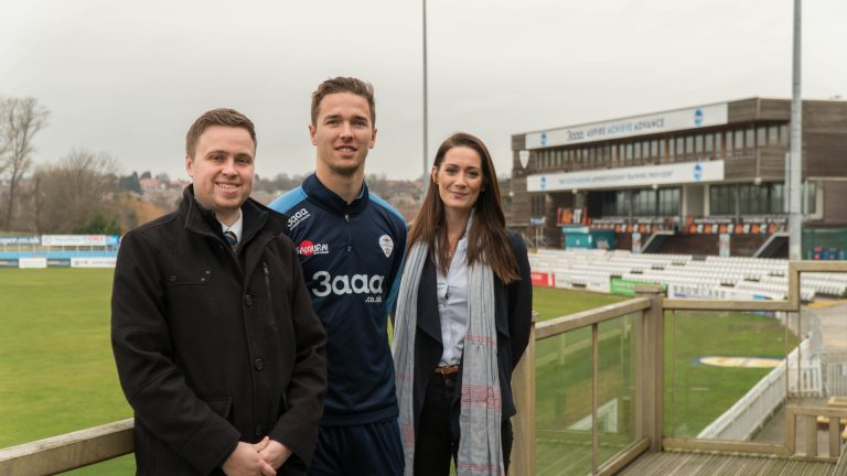 Real time marketing business announces partnership with Derbyshire County Cricket Club