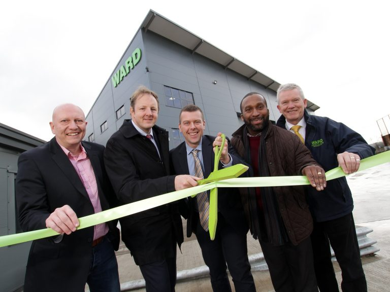 Ward unveils £1m investment to upgrade Chesterfield recycling site