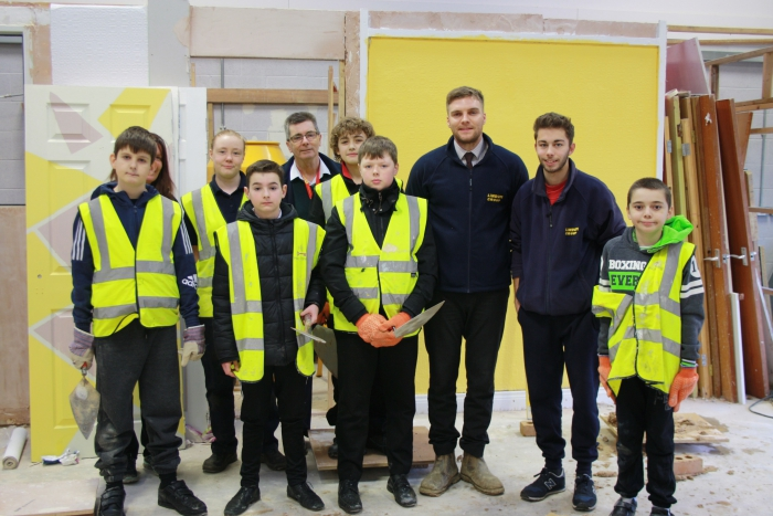 Lincoln firms launches Construction Club at school