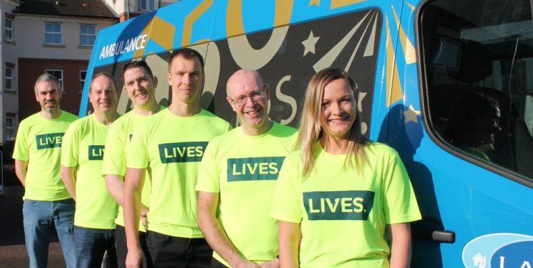 Saving Lives through fundraising