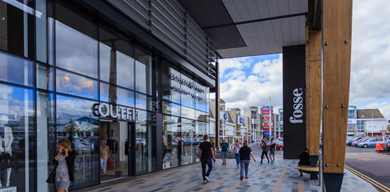 Plans for Leicester shopping centre's food court approved