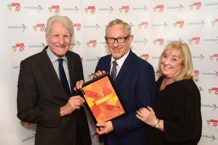 45 year award for Wellglade's OBE holder