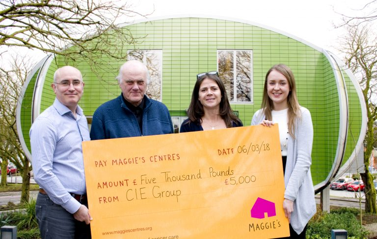 CIE Group 'saddle up' for Maggie's in aid of work colleagues