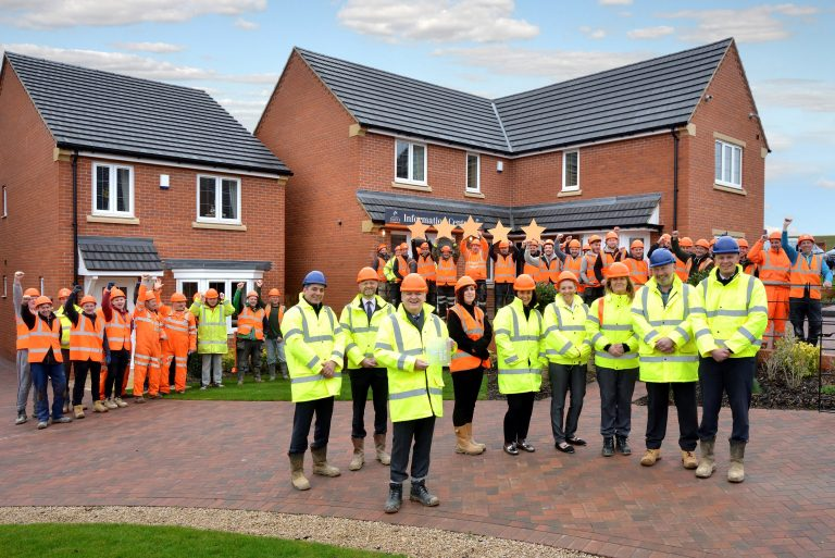 William Davis Homes celebrates HBF 5 star award for third year in a row