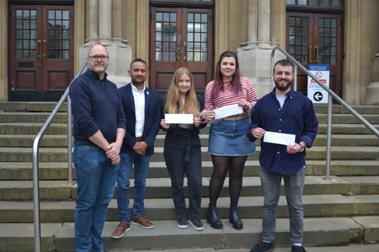 Couch Perry Wilkes supports graduate talent with prize money
