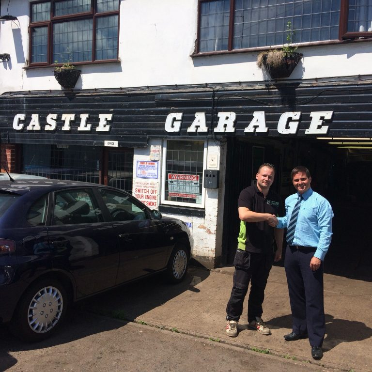 Leicester garage bought with Barclays funding