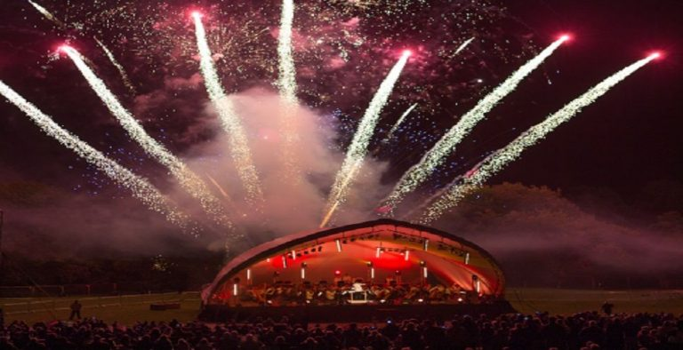 Businesses join forces for outdoor concert return