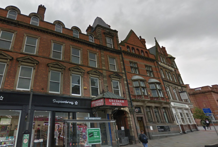 Bildurn Has Submitted Plans For The Now Vacant Gresham Hotel At 99 107 Carrington Street Just By Train Station In Nottingham