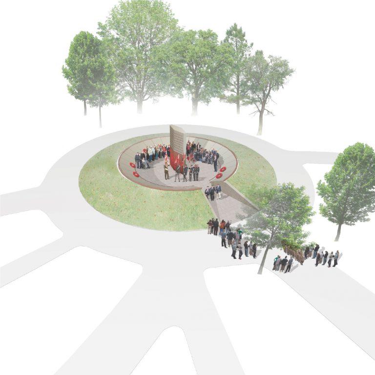 Revealed: First World War memorial design