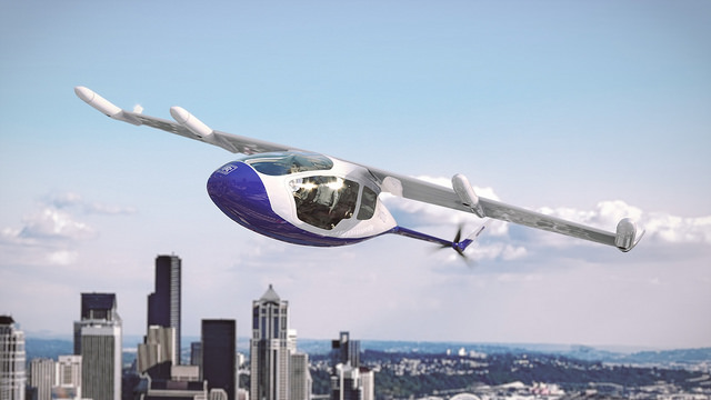 Rolls-Royce reveals flying taxi