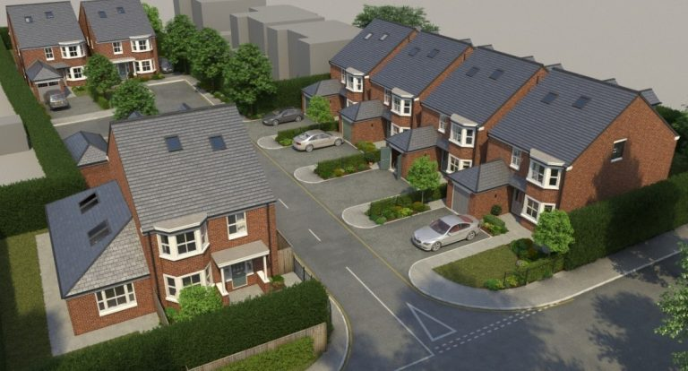 Phase one complete at Mulberry Close development in Beeston