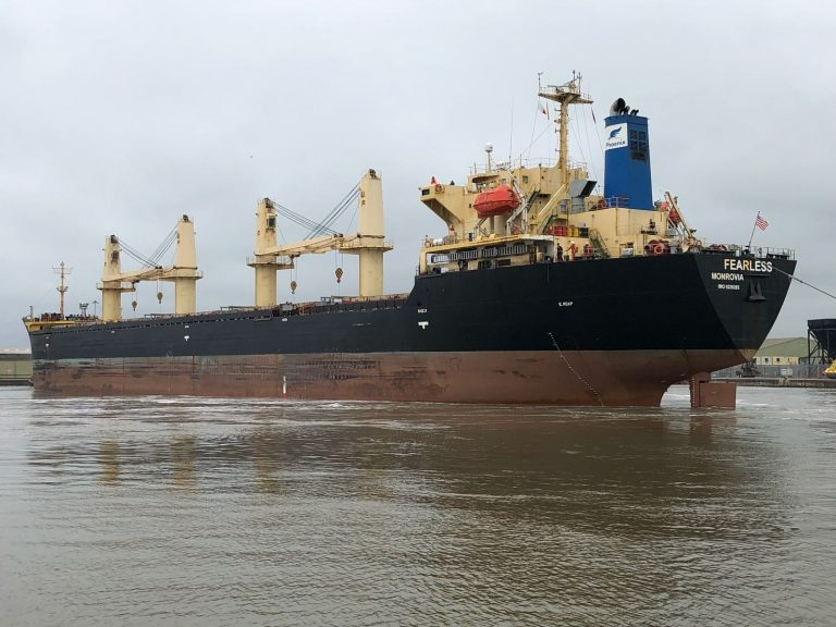 Ward ships out first 20,000 tonnes of steel from its dedicated dock