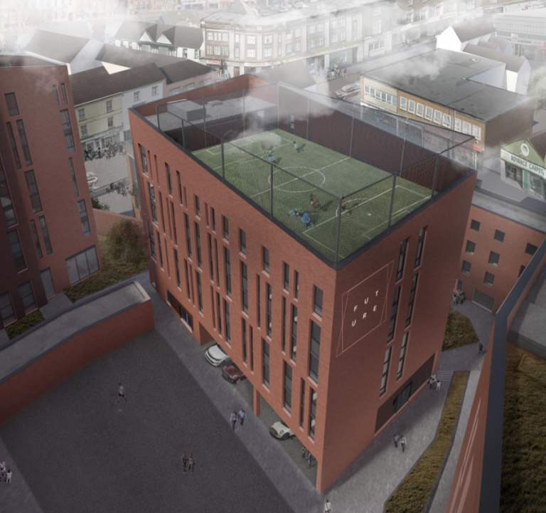 Plans refused for 12 storey student accommodation building in Loughborough