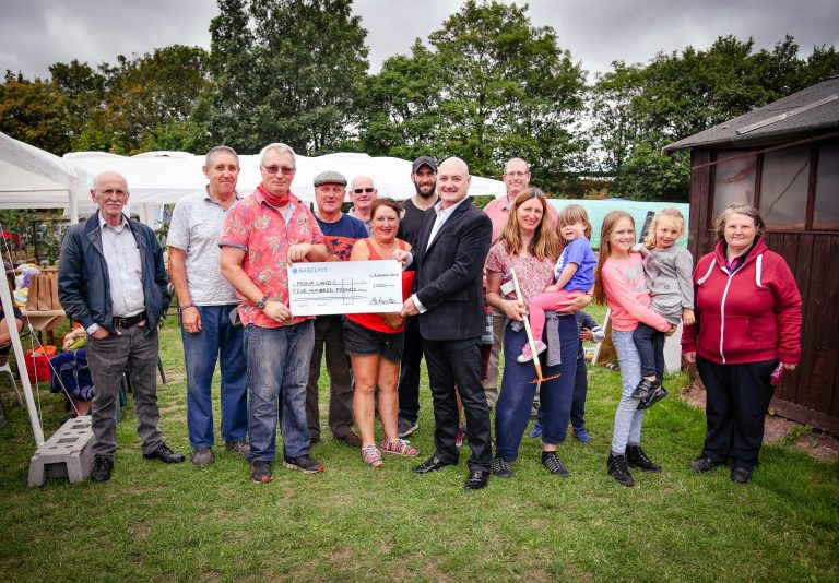 Allotment to bloom with Russells' support