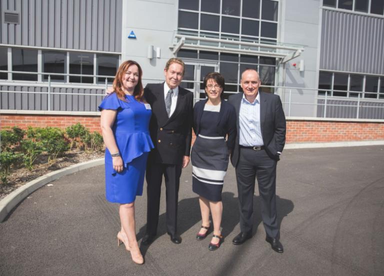 TruNet (UK) unveils new Leicestershire production plant