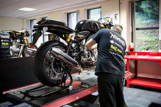 £20m export deal win for Castle Donington motorcycle manufacturer