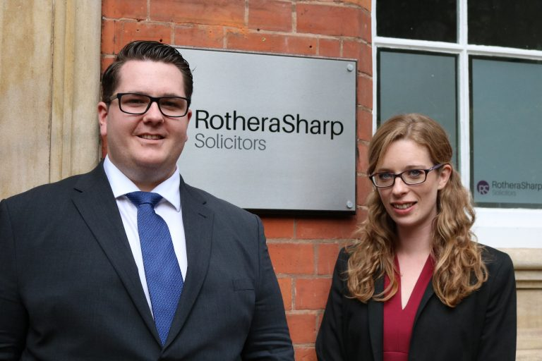 Rothera Sharp celebrates arrival of trainee and promotion of home-grown talent