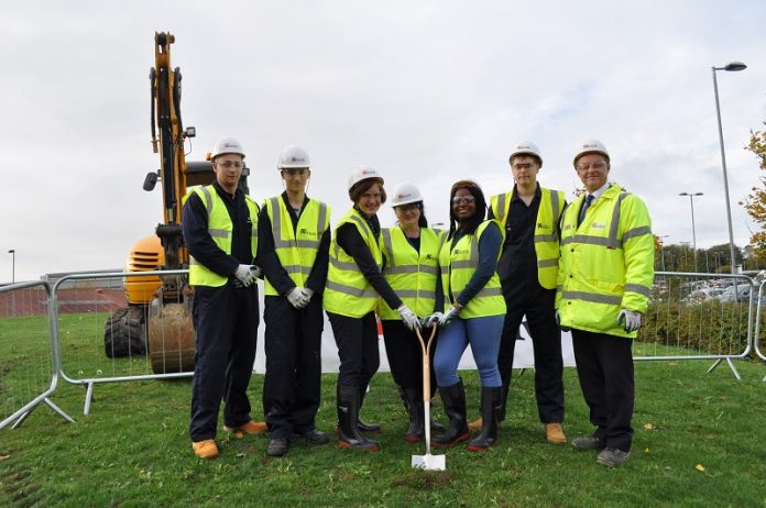 Work begins on £4.75m facility for Northants construction industry