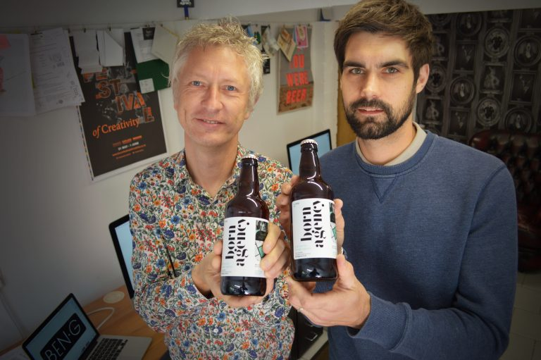 Creative agency launches own beer