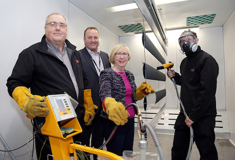 Factory unveils new hi-tech equipment and jobs with help of a £170k investment