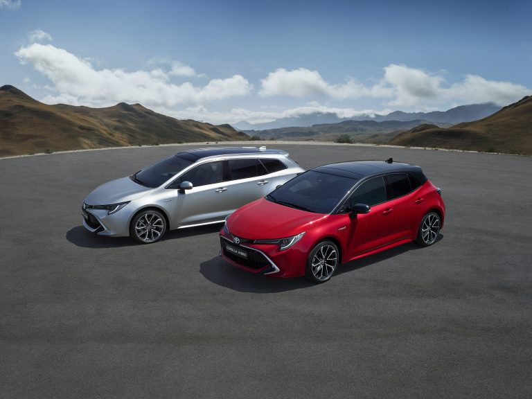 Toyota begins production of new Corolla in Derbyshire
