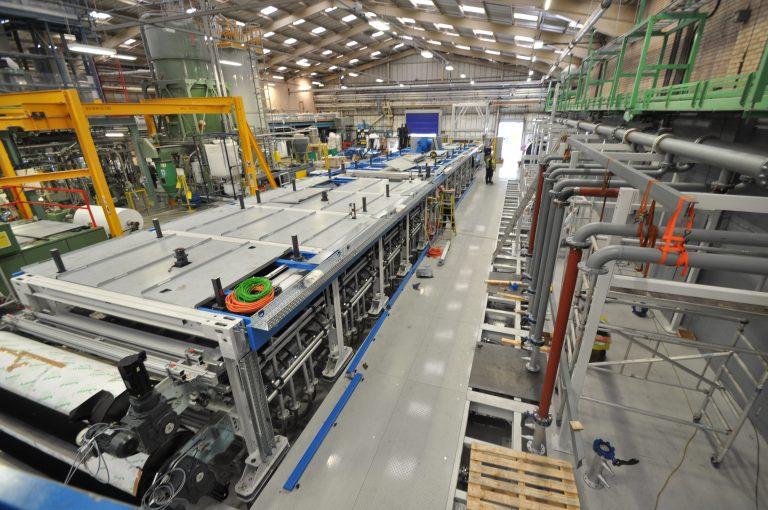 Derbyshire flooring manufacturer invests £4m on new machinery project
