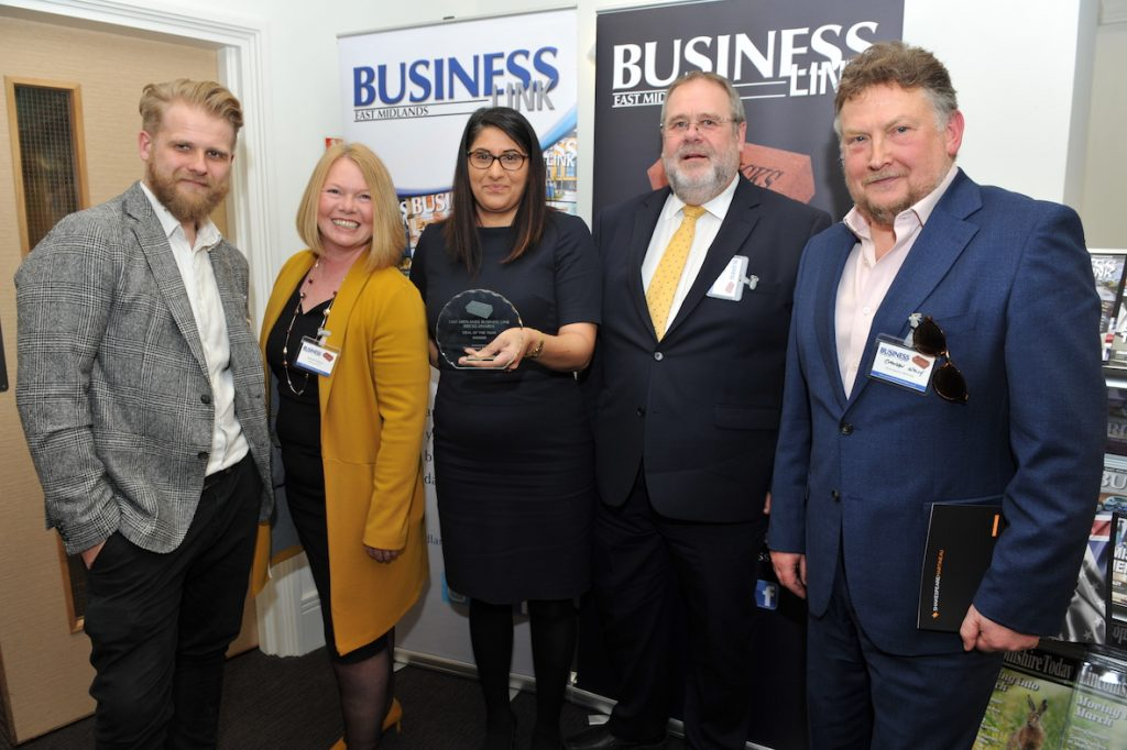 Simon Midgley (Fairgrove Homes), Vanessa Gregory (Fairgrove Homes), Mary Gharmount (Nelsons Solicitors), Steve Midgley (Fairgrove Homes), Brendan Walsh (Shakespeare Martineau)
