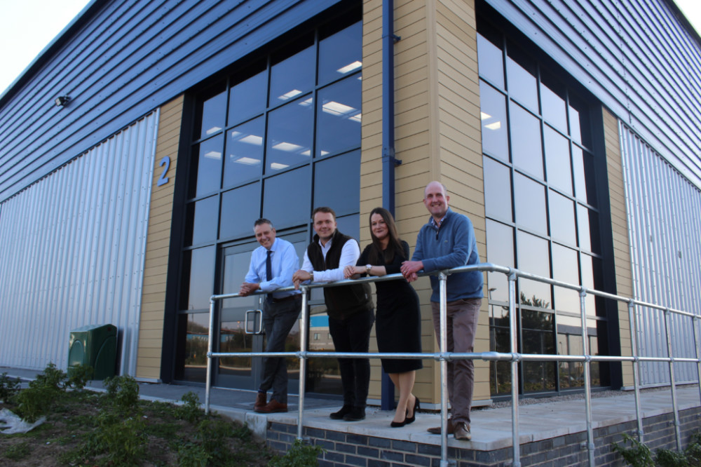PMW Property completes all units at Swadlincote business park