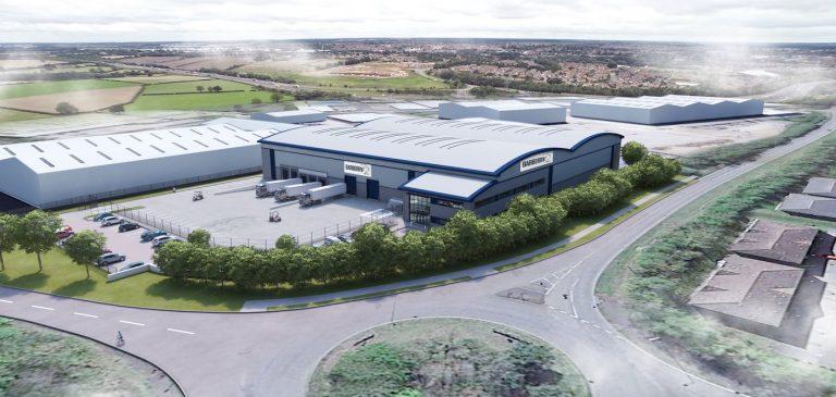 £9.8m speculative warehousedevelopment gets green light