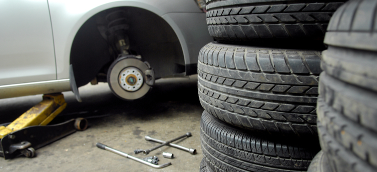 Trading Standards officials put part-worn tyres under the microscope