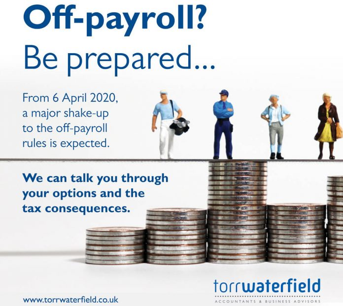 Hot topic: working off-payroll