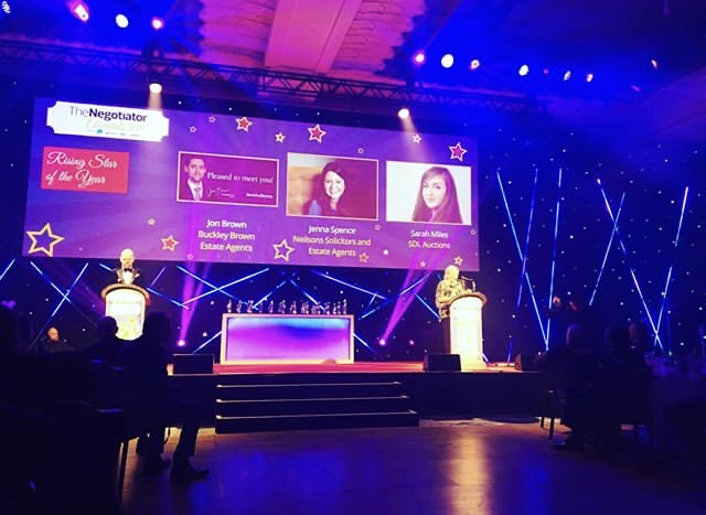 Huge honour for SDL Auctions' Sarah at glittering property 'Oscars'