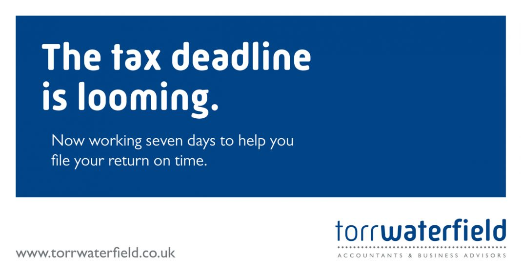 Get 2020 off to a good start by submitting your tax return on time