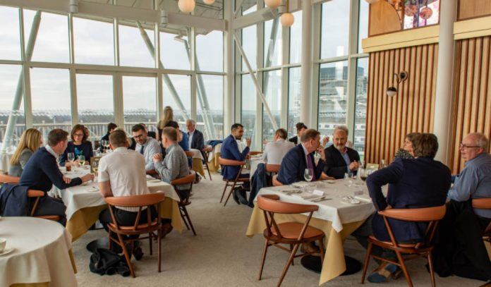 First Directors Lunch of the year a sold-out success