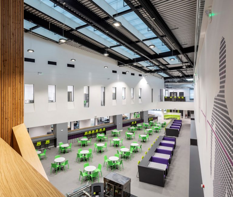 Mansfield-based manufacturer completes £1.5m contract for secondary school