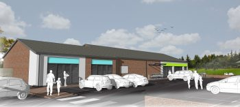 New retail units for Clipstone