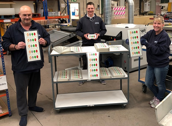 Chesterfield label and signage manufacturer helps supply vital equipment to the NHS