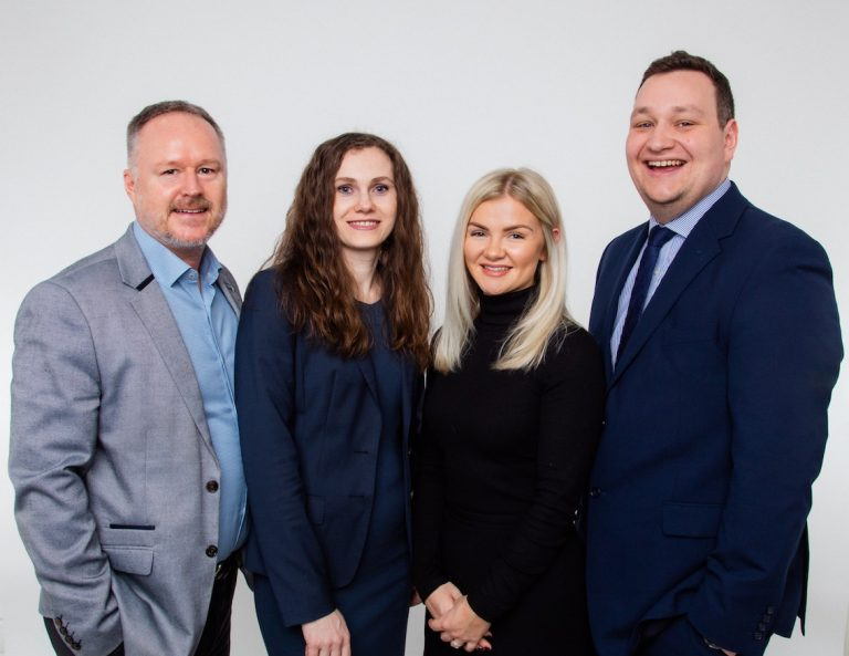 Leicestershire insurance specialist promotes three to Director roles