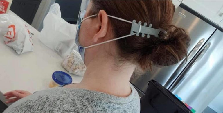 Geeks Headquarters producing mask straps for key workers and NHS staff