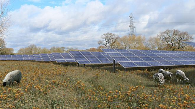 Major solar farm plans for Leicestershire submitted