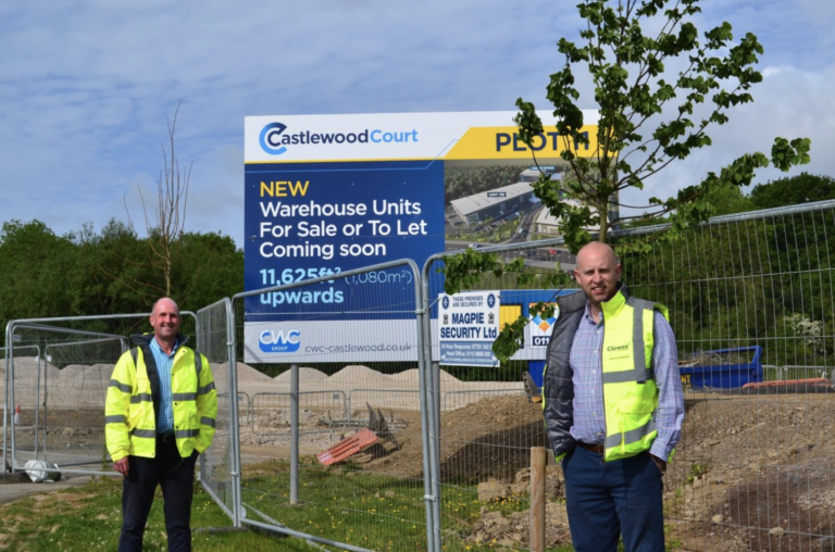 CST Industries sign up for a bespoke new building at Castlewood Business Park