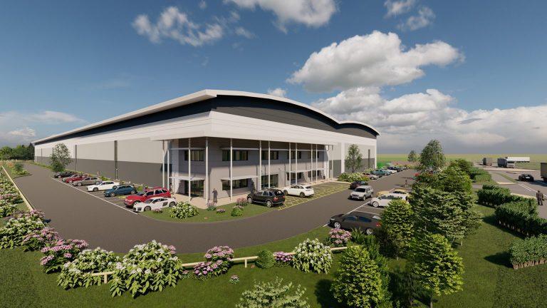 New 165,000 sq ft unit set for Centrix Business Park