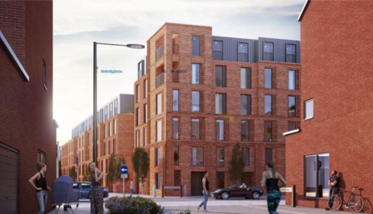 Plans submitted for next phase of Derby's Castleward residential development